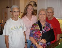Hospice of Montgomery Frist Thursday volunteers
